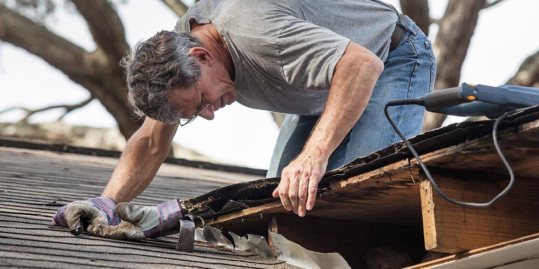 Roof Repair In-Progress